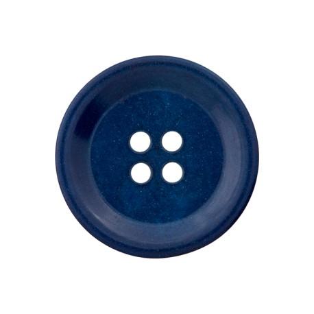 Corozo Button - Cobalt Blue Renew