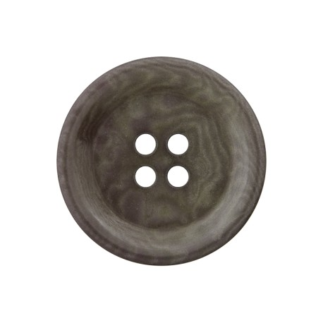 Corozo Button - Green Grey Renew
