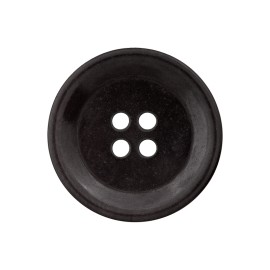 Corozo Button - Ebony Renew
