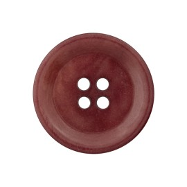 Corozo Button - Mahogany Renew