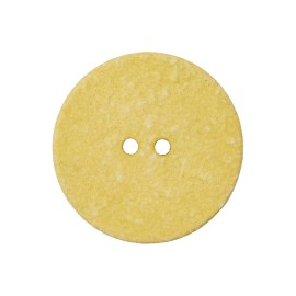 Recycled Cotton Button -  Yellow Noto