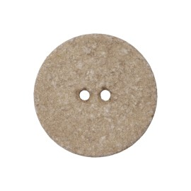 Recycled Cotton Button -  Beige Noto