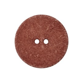 Recycled Cotton Button - Sienna Noto