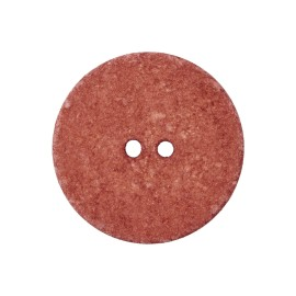 Recycled Cotton Button - Terracotta Noto