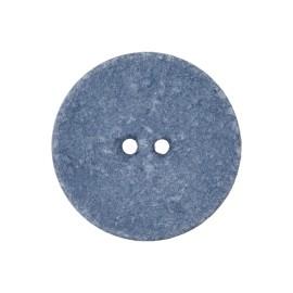 Recycled Cotton Button - Cornflower Blue Noto