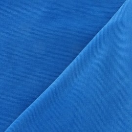 Milleraies velvet fabric - azure 200gr/ml x10cm