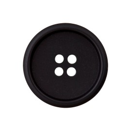 Recycled Paper Button - Black Marcelino