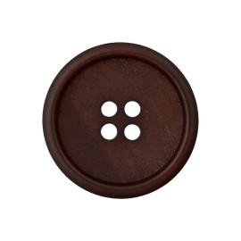 Bouton Papier Recyclé Marcelino - Chocolat
