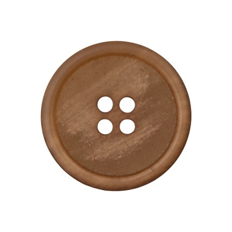 Recycled Paper Button - Chestnut Marcelino