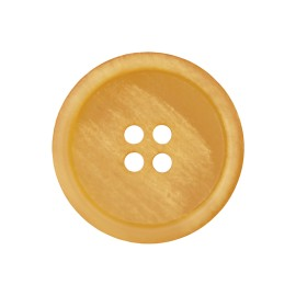 Recycled Paper Button - Yellow Marcelino