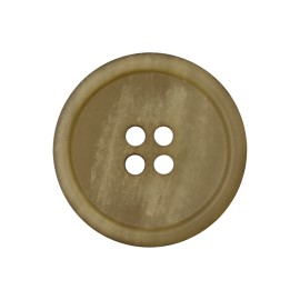 Recycled Paper Button - Light Khaki Marcelino