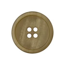 Recycled Paper Button - Light Khaki Marcelino