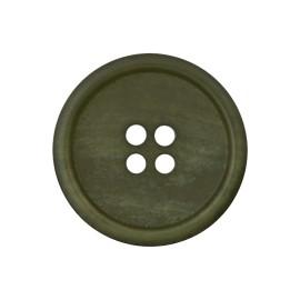 Bouton Papier Recyclé Marcelino - Vert Militaire