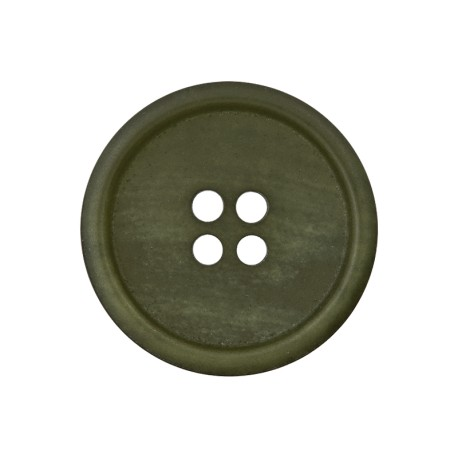 Recycled Paper Button - Army Green Marcelino