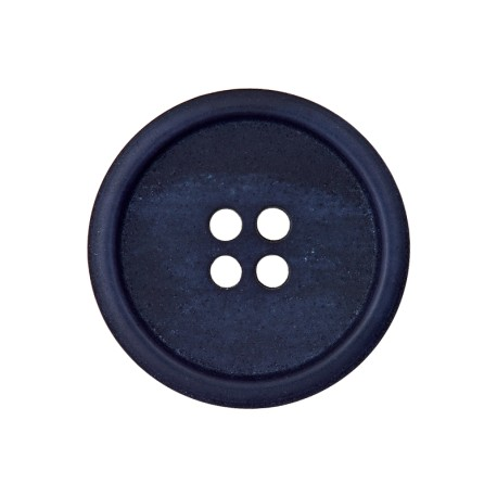 Recycled Paper Button - Navy Blue Marcelino