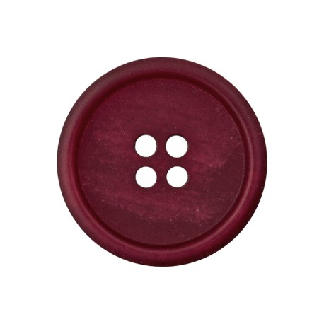 Recycled Paper Button - Burgundy Marcelino