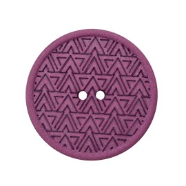Recycled Hemp Button - Purple Mesoa