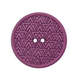 Recycled Hemp Button - Purple Mesoa