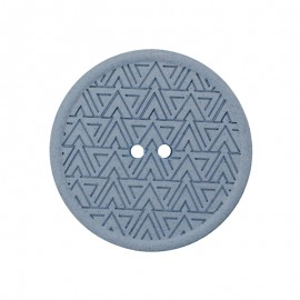 Recycled Hemp Button - Blue Mesoa