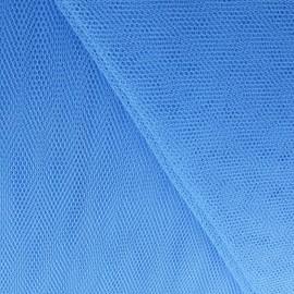 Tulle bleu au mètre