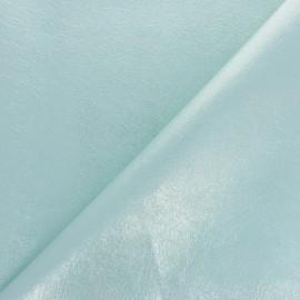 Tissu Simili cuir souple Queenie - Lilas métallisé x 10cm
