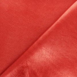 Tissu Simili cuir souple Queenie - doré métallisé x 10cm