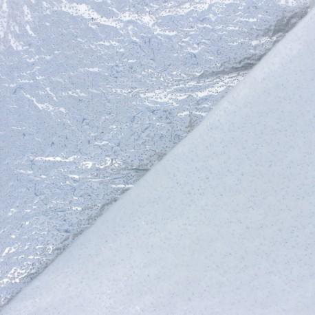 Tissu Ouate spécial coupe-vent - argent x 10cm