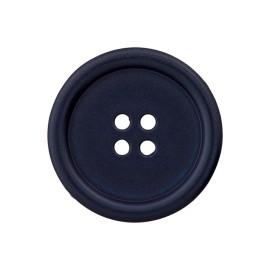 Bouton Plastique Recyclé Optimum - Bleu Marine