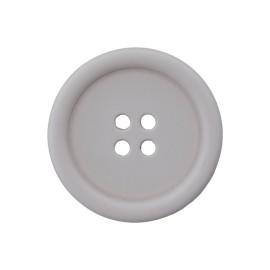 Bouton Plastique Recyclé Optimum - Gris