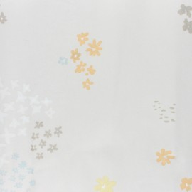 ♥ Coupon 250 cm X 140 cm ♥ Coated cotton fabric Rico Design Crafted Nature - grey