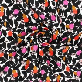 Tissu Rayonne Dashwood studio Leaf Trail - écru x 10cm