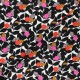 Dashwood studio Rayon fabric - Black Playful x 10cm