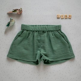 Shorts Sewing Pattern - L'Atelier des Petits Patrons Lisa