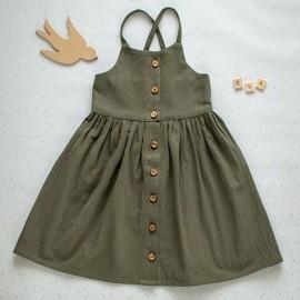 Dress Sewing Pattern - L'Atelier des Petits Patrons Eva