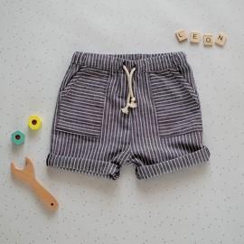 Shorts Sewing Pattern - L'Atelier des Petits Patrons Leon