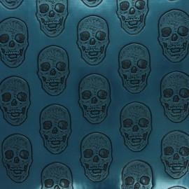 Simili cuir Hamlet - bleu x 10cm