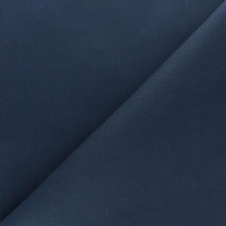 Twill Cotton Fabric - ink blue x 10cm