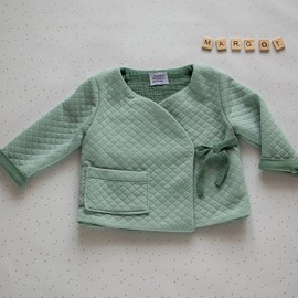 Wrap Sweater Sewing Pattern - L'Atelier des Petits Patrons Margot