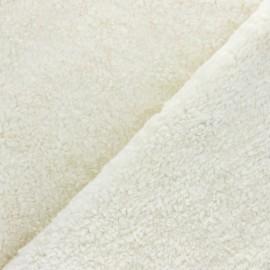 Astrakhan Fur fabric - Grey Minsk x 10cm