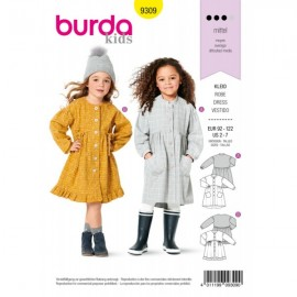 Dress Sewing Pattern for Children - Burda Kids n°9309