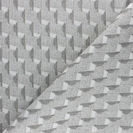 Walkie Talkie Jacquard fabric - neon orange Origami x 10cm