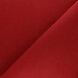 Tissu Feutrine épaisse - rouge passion x 10cm