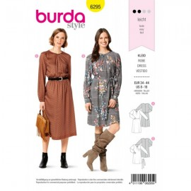 Dress Sewing Pattern - Burda Style n°6295