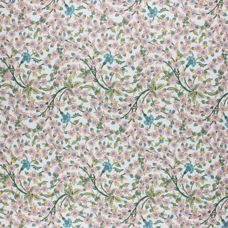Liberty cotton fabric - Empress B x 10cm
