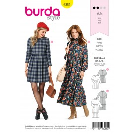 Dress Sewing Pattern - Burda Style n°6265