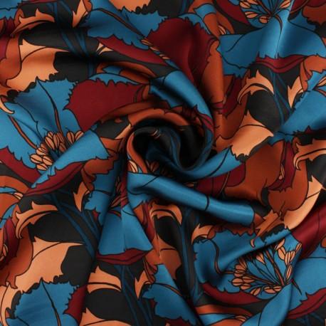 Tissu Soie Liberty - Eustacia B x 10cm