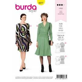 Dress Sewing Pattern - Burda Style n°6277