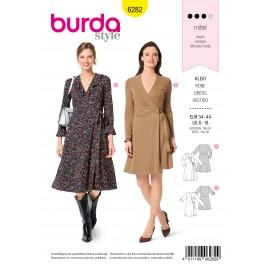 Patron Robe Portefeuille Burda n°6282