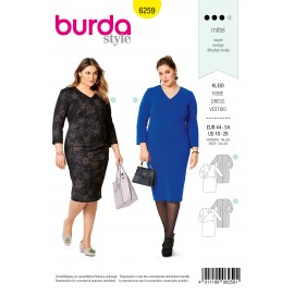 Dress Sewing Pattern - Burda Style n°6259