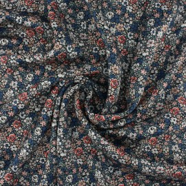 Liberty silk satin fabric - Emma Louise C x 10cm